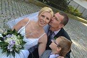 Soutěžní svatební pár číslo 113 - Markéta a Lukáš Drabiščákovi, Kokory.