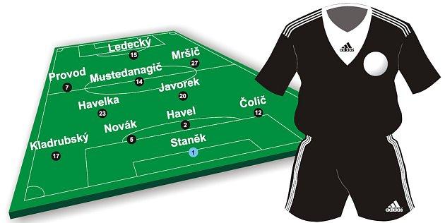 Fotbalisté Českých Budějovic nastoupí do dnešního zápasu se Slováckem pravděpodobně vtéto sestavě.