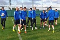 Fotbalisté Slovácka se na jarní ligové boje připravují v tureckém Beleku.