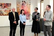 V Turistickém centru Velehrad bude až do 28. června vystavovat čtyřicet obrazů s legionářskou tematikou, ale i ze své volné tvorby akademický malíř Pavel Vavrys.