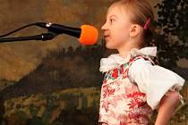 V pěvecké soutěži v městyse pod Buchlovem bojovalo o Buchlovského slavíčka 16 dětí předškolního a školního věku.
