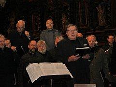 Ve velehradské bazilice se sešli moravští učitelé a zazpívali.