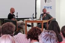 Režisér Bohdan Sláma debatoval v rámci Letní filmové akademie s návštěvníky LFŠ.
