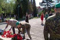 V Uherském Hradišti si připomněli osvobození města od německé okupace.