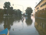 Ladislav Šupka. Starosta Hradiště v době povodní.