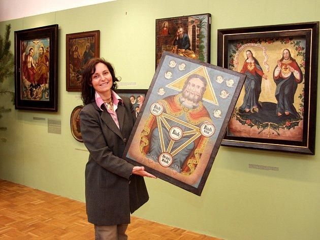Etnografka Romana Habartová.