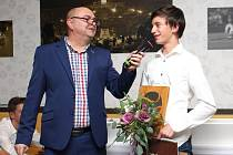 Poslední fiftýn, vyhlášení nejlepších tenisových hráčů regionu Slovácka za rok 2017 ve Sportparku Rybníček ve Starém Městě.