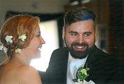 Soutěžní svatební pár číslo 136 - Lucie a Petr Kubíčkovi, Dolní Studénky