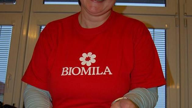 Seminář o ekologickém zemědělství nabídl také ochutnávku biopotravin.