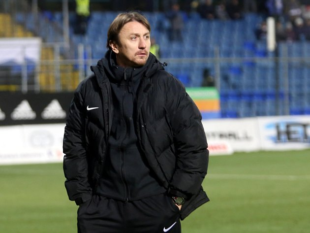 Trenér Slovácka Michal Kordula