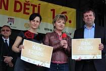 Akce Prolínání v pátek 20. května v Uherském Hradišti podpořila znovuotevření Cafe 21 v centru města.