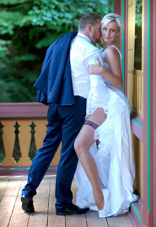 Soutěžní svatební pár číslo 120 - Kristýna a Petr Weiserovi, Lipová-lázně