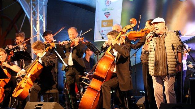 CZ&SK Hello Jazz Weekend 2019 na kolejním nádvoří v Uherském Hradišti