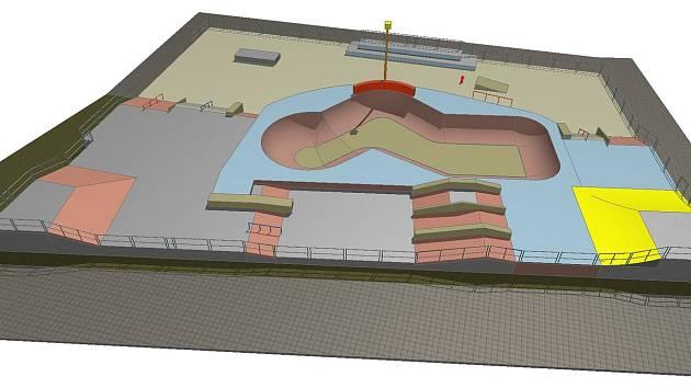Hradiště bude mít nový skatepark za více než 8,5 milionu korun