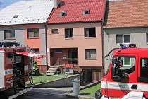 Požár v rodinném domu v Korytné.