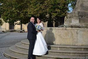 Soutěžní svatební pár číslo 103 - Blanka a Jiří Němcovi, Uherský Ostroh