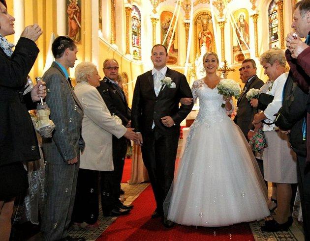 Soutěžní svatební pár číslo 85 - Iva a Michal Lukáčovi, Jeseník