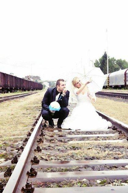 Soutěžní svatební pár číslo 9 - Eva a Ladislav Beníčkovi, Uherský Brod.