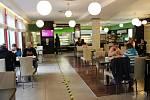 Provoz restaurace  Hotelu Mlýnská v Uherském Hradišti v pondělí 25. května