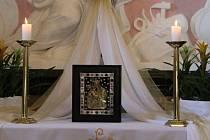 Návštěvníci Dnů lidí dobré vůle mohli uctít na Velehradě Palladium země české.