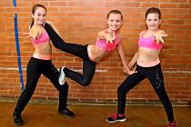 VUherském Hradišti se uskutečnila oblastní soutěž dětských družstev snázvem Aerobik nás baví.