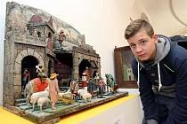 Výstava Betlémy ze soukromých sbírek ve Slovácké galerii v Uherském Hradišti.