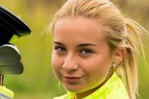 Dvanáctiletá reprezentantka Golf clubu Uherské Hradiště Magdalena Červinková.
