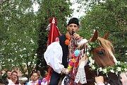 Po třech letech projela Hlukem v pořadí již 23. jízda králů. V jejím čele tentokrát zasedl syn hluckého starosty Tedeáš Křižan, kterého doprovodilo pětadvacet jezdců v královské družině.