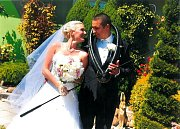 Soutěžní svatební pár číslo 229 - Kateřina a Petr Durajovi, Olomouc