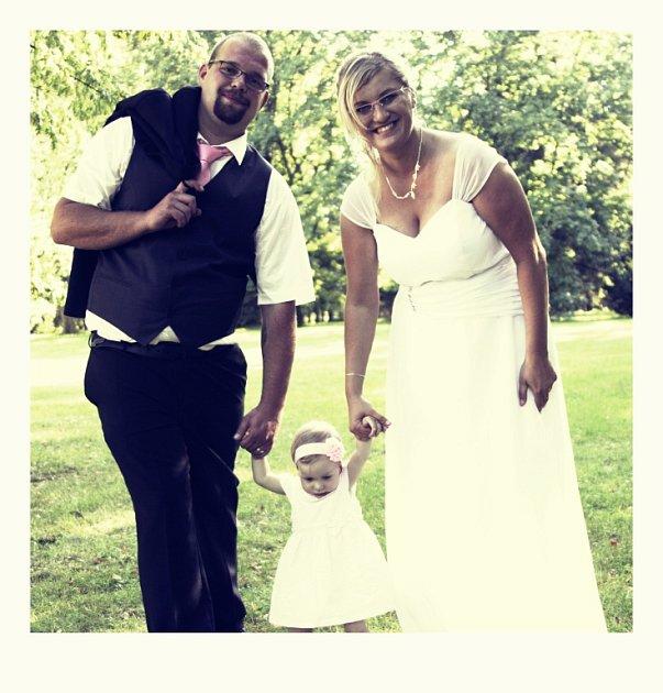 Soutěžní svatební pár číslo 142 - Patricie a Marek Bartasovi, Valašské Meziříčí