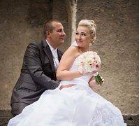 Soutěžní svatební pár číslo 143 -Andrea a Lukáš Zavadilovi, Tovačov