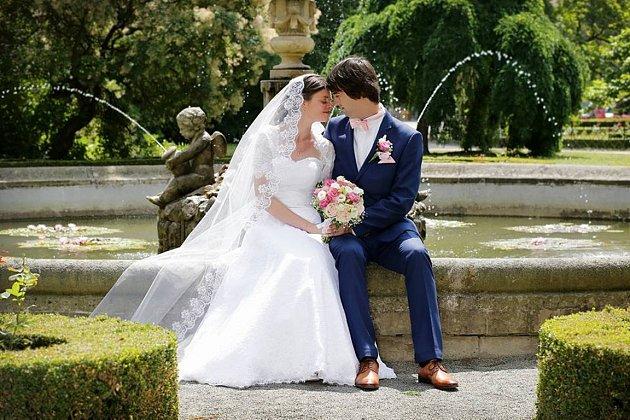 Soutěžní svatební pár číslo 44 - Ingrid a Filip Kandusovi, Dřevnovice
