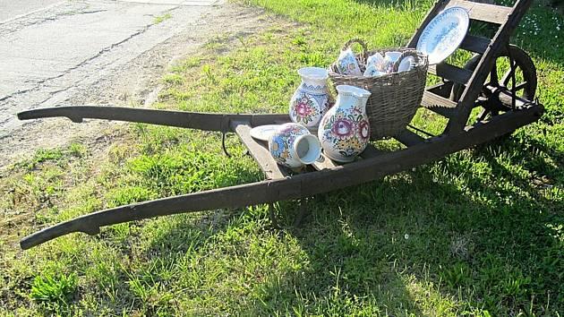 Obec Tupesy. Keramika