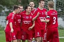 Fotbalisté Uherského Brodu na úvod zimní přípravy přestříleli juniorku ligového Slovácka 4:3.