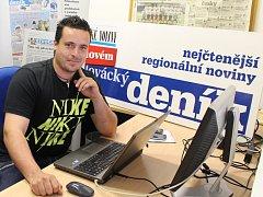 Vít Lopata odpovídal v redakci Slováckého deníku na dotazy čtenářů.