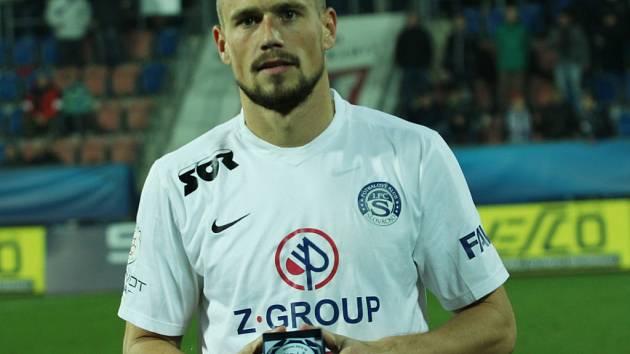 1. FC Slovácko - FK Jablonec. Jaroslav Diviš – nejlepší hráč utkání.
