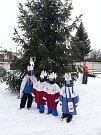 V Podolí v sobotu 5. ledna vyrazilo do ulic hned 7 skupinek tříkrálových koledníků.