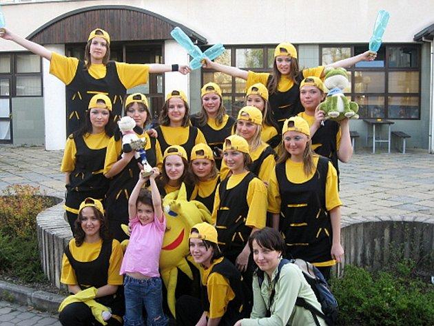 Tanečně-sportovní skupina Pohoda.
