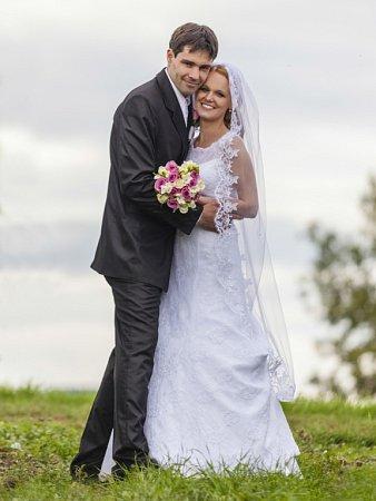 Soutěžní svatební pár číslo 56 - Eva a Martin Kročilovi, Uherské Hradiště.