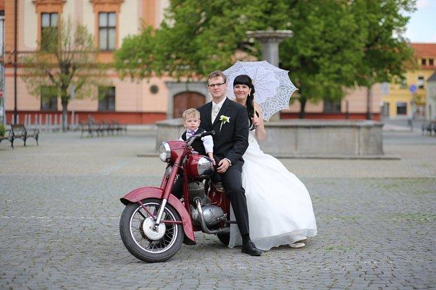 Soutěžní svatební pár číslo 89 - Štěpánka a Jan Brabcovi, Sušice.