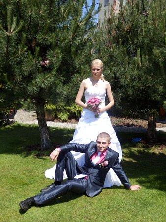 Soutěžní svatební pár 99 - Monika a David Šperlíkovi, Šternberk.