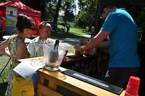 Garden Food Festival ve Smetanových sadech v Uherském Hradišti nabídl o víkendu speciality z celého světa; sobota 22. srpna 2020