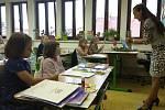 Letos ZŠ UNESCO otevírá tři první třídy (58 žáků). Celkem bude školu navštěvovat 650 školáků. Třídu 1.C (19 žáků) bude učit paní učitelka Mgr. Eva Fridrichová.
