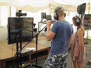 V rámci Letní filmové školy se ve stanu Respect uskutečnila soutěž v dabingu.