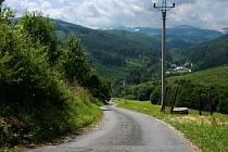 Cyklistický výlet z Pitína do Starého Hrozenkova.