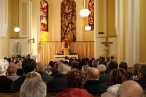 Věřící si v Pitíně připomněli vysvěcení kostela.