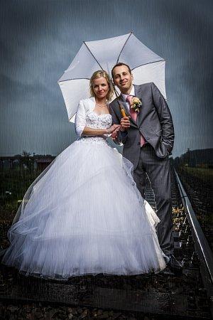 Soutěžní svatební pár číslo  33 –  Helena a René Vávrovi, Ostrožská Nová Ves
