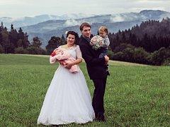 Soutěžní svatební pár číslo 56 - Martina a Aleš Kristkovi, Jablůnka