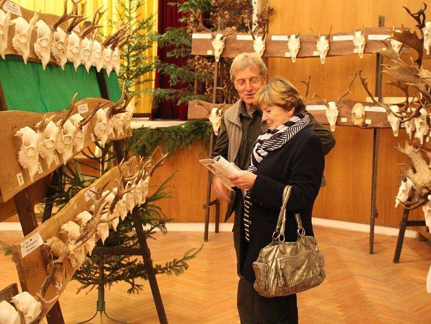 Výstava trofejí v Bojkovicích