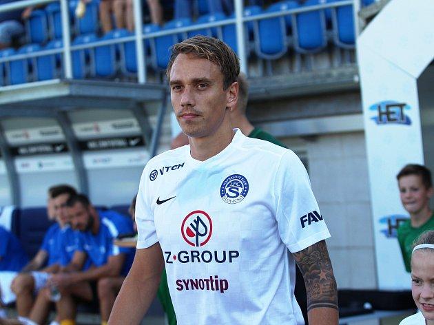 1. FC Slovácko. Na snímku Patrik Šimko